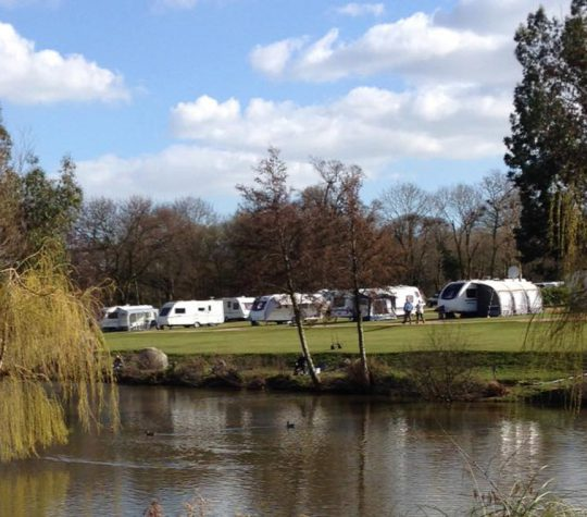 Say hello to quiet getaways at our Essex touring park